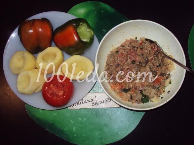 Фаршированные овощи: пошаговое фото - Шаг №3