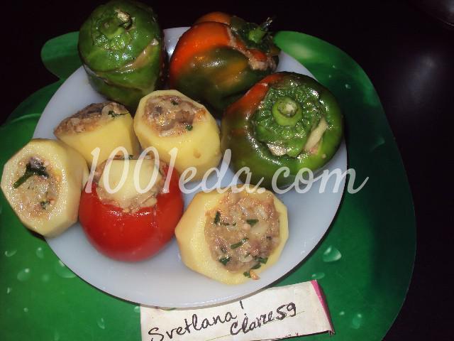 Фаршированные овощи: пошаговое фото - Шаг №4