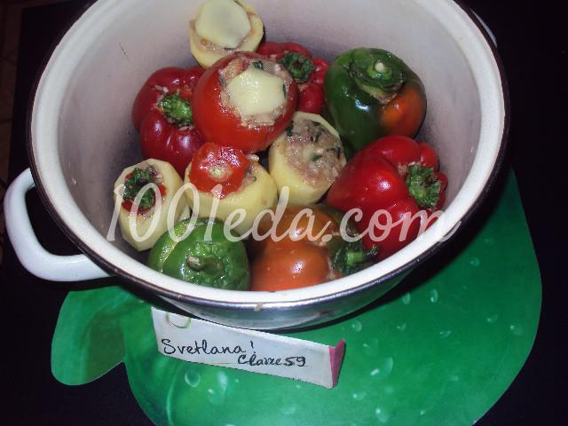 Фаршированные овощи: пошаговое фото - Шаг №5