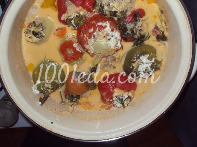 Фаршированные овощи: пошаговое фото - Шаг №7