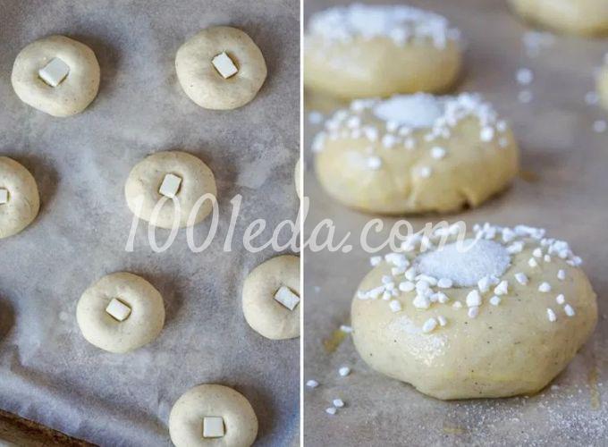 Финские булочки с масляным глазком