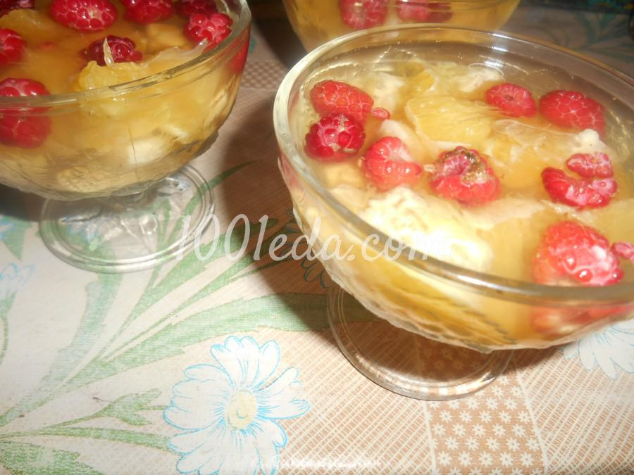 Желе с фруктами рецепт фото пошагово