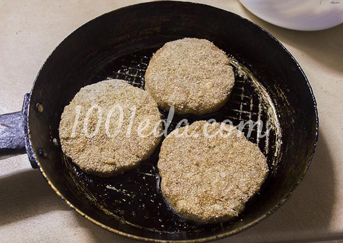 Гамбургер с котлетой по-домашнему: рецепт с пошаговым фото - Шаг №6