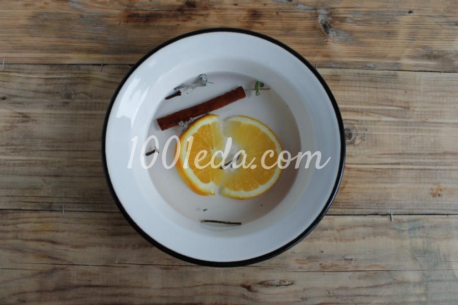 Глинтвейн с апельсином: пошаговое фото - Шаг №2