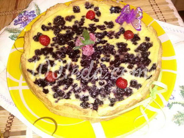 Черничный компот, пошаговый рецепт с фото