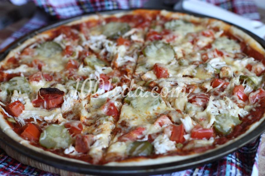 Готовим тонкое тесто и соус для пиццы: пошаговый с фото - Шаг №5