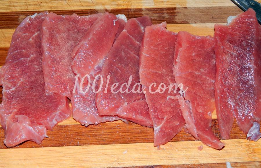 Говядина, жареная на сковороде, с луком: пошаговый с фото - Шаг №1