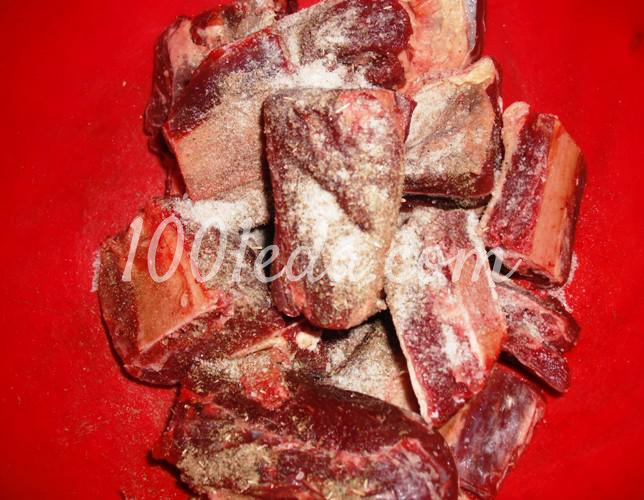 говяжьи ребрышки в казане рецепт с фото