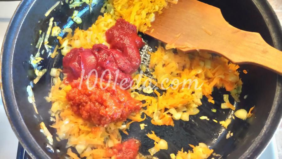Гречаники с сыром в томатно-овощном соусе: рецепт с пошаговым фото - Шаг №3