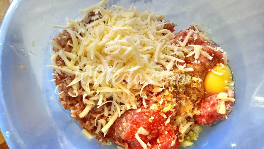 Гречаники с сыром в томатно-овощном соусе: рецепт с пошаговым фото - Шаг №5