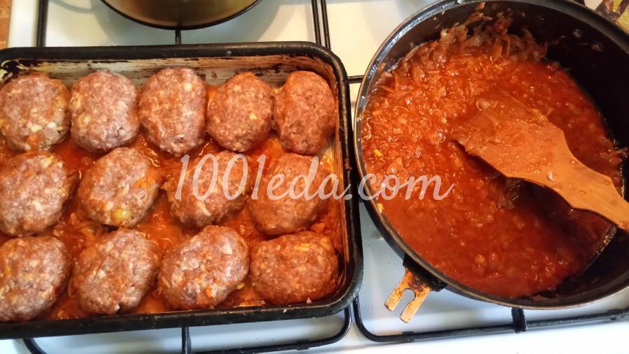 Гречаники с сыром в томатно-овощном соусе: рецепт с пошаговым фото - Шаг №6