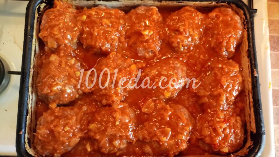 Гречаники с сыром в томатно-овощном соусе: рецепт с пошаговым фото - Шаг №7