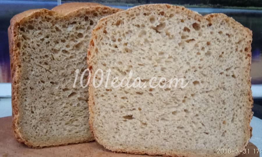 Гречневый хлеб на пиве в хлебопечке: пошаговое фото - Шаг №12
