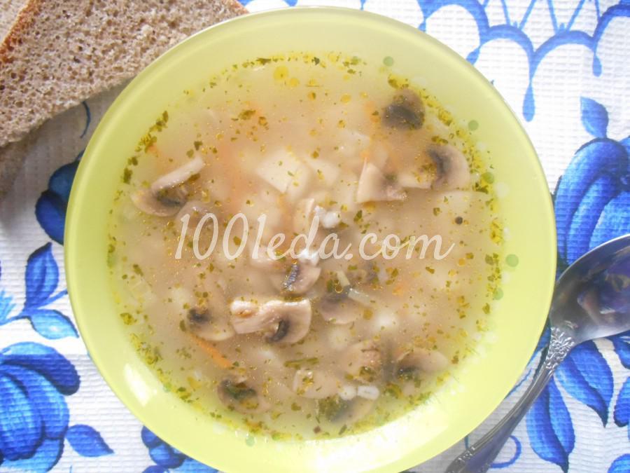 Грибной суп с перловкой: рецепт с пошаговым фото - Шаг №7