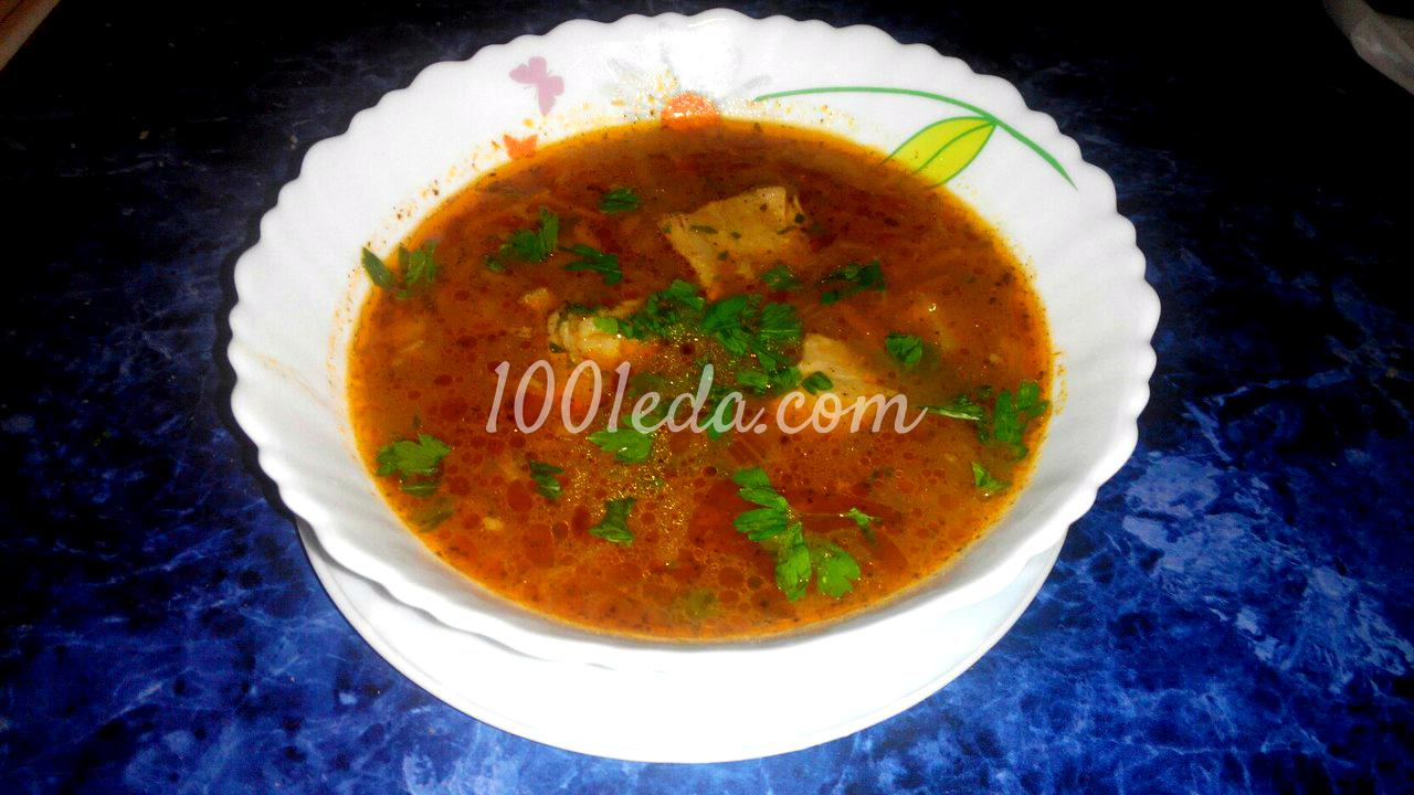рецепт приготовления суп- харчо по-шагово