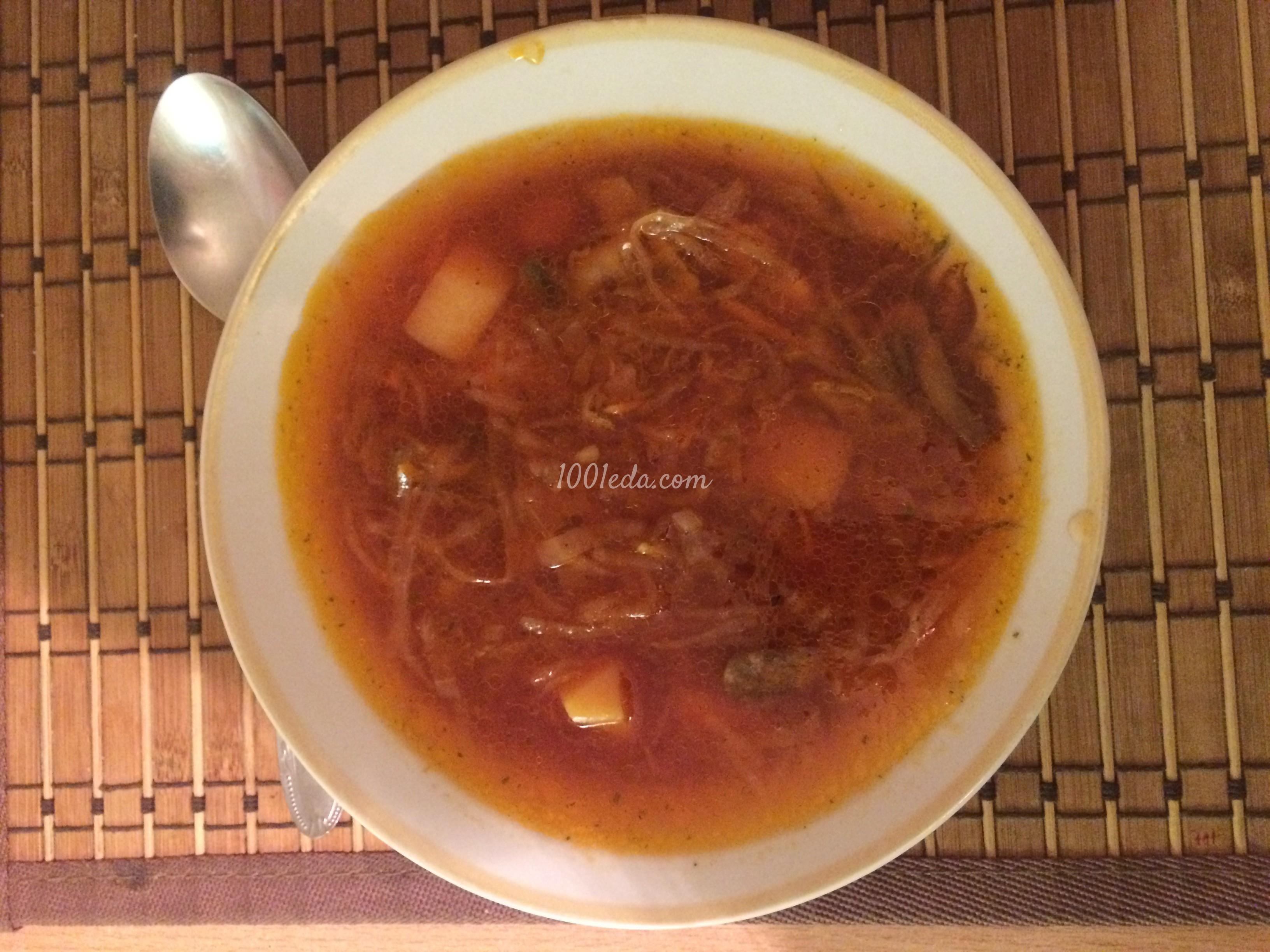 вегетарианский борщ рецепт с фото пошагово