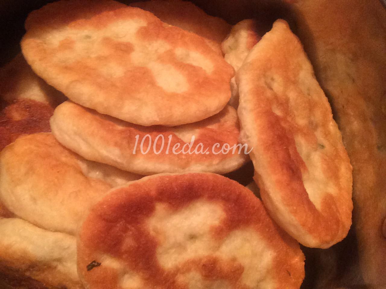 Пирожки жареные с начинкой рецепт с пошагово