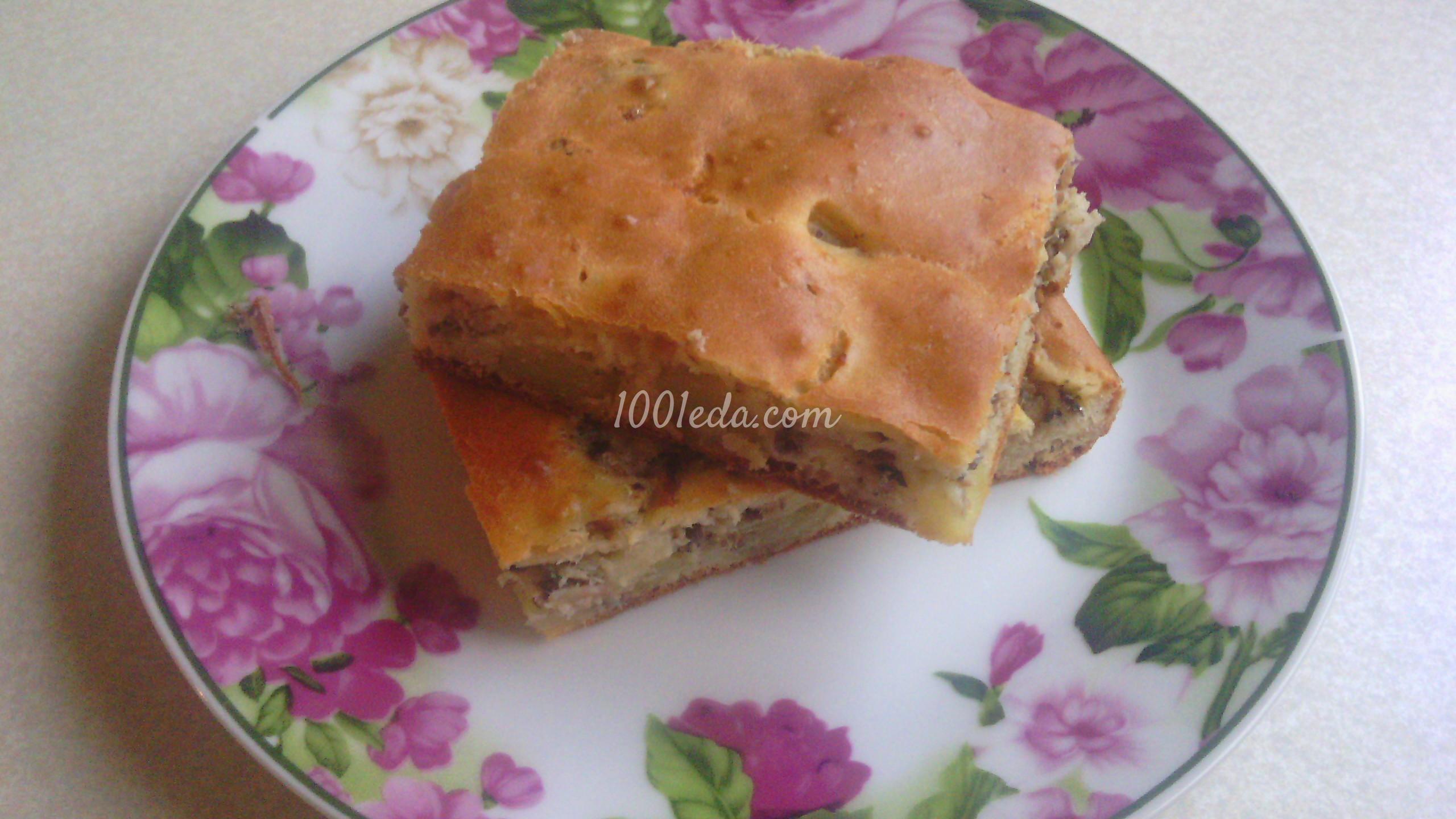 Рецепт приготовления пирога с рыбой рецепт