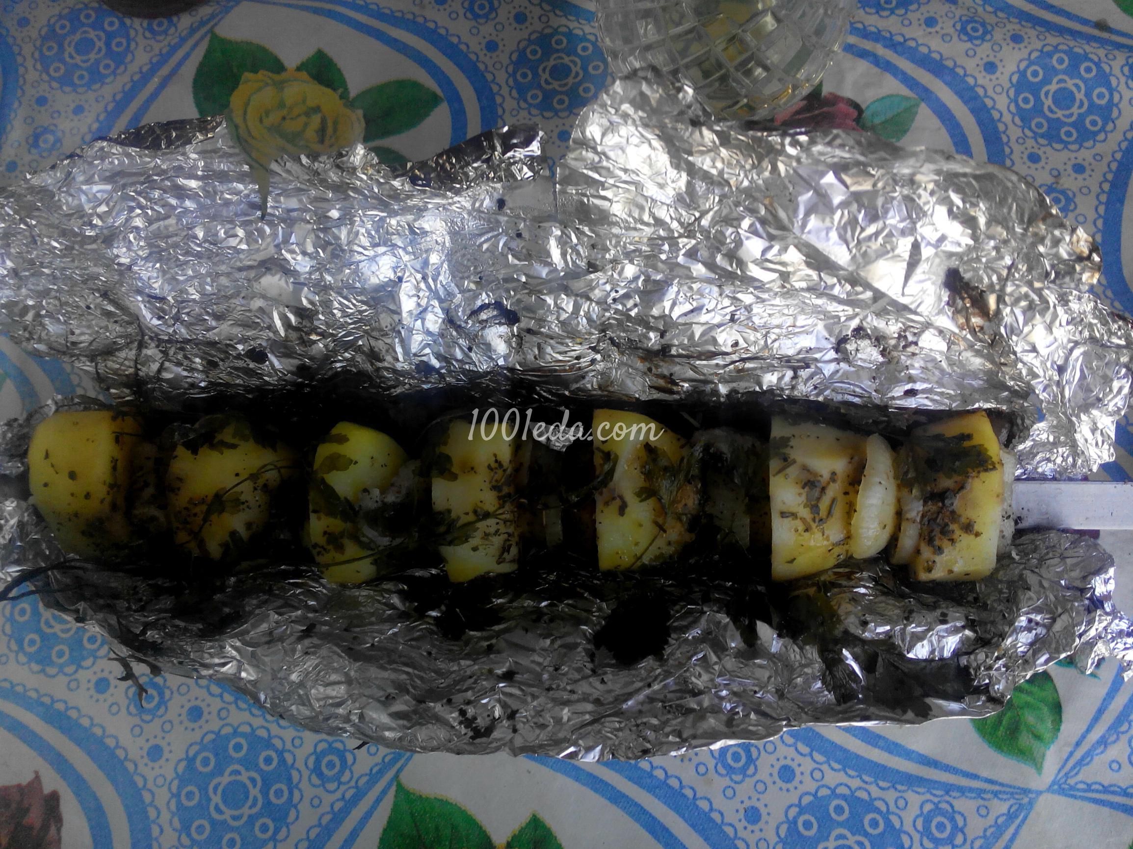 Картошка в фольге на мангале рецепт