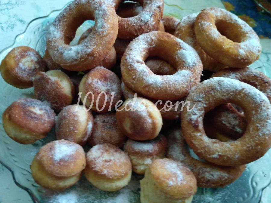 Пончики из кислого молока рецепт пошагово