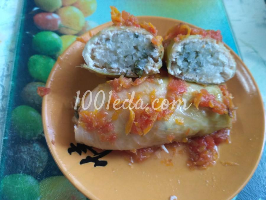 Диетические голубцы с куриным филе и рисом: рецепт с пошаговым фото