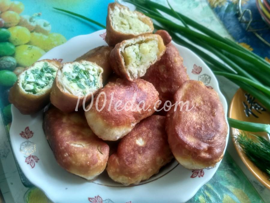 Вкусные пирожки на кефире с начинкой