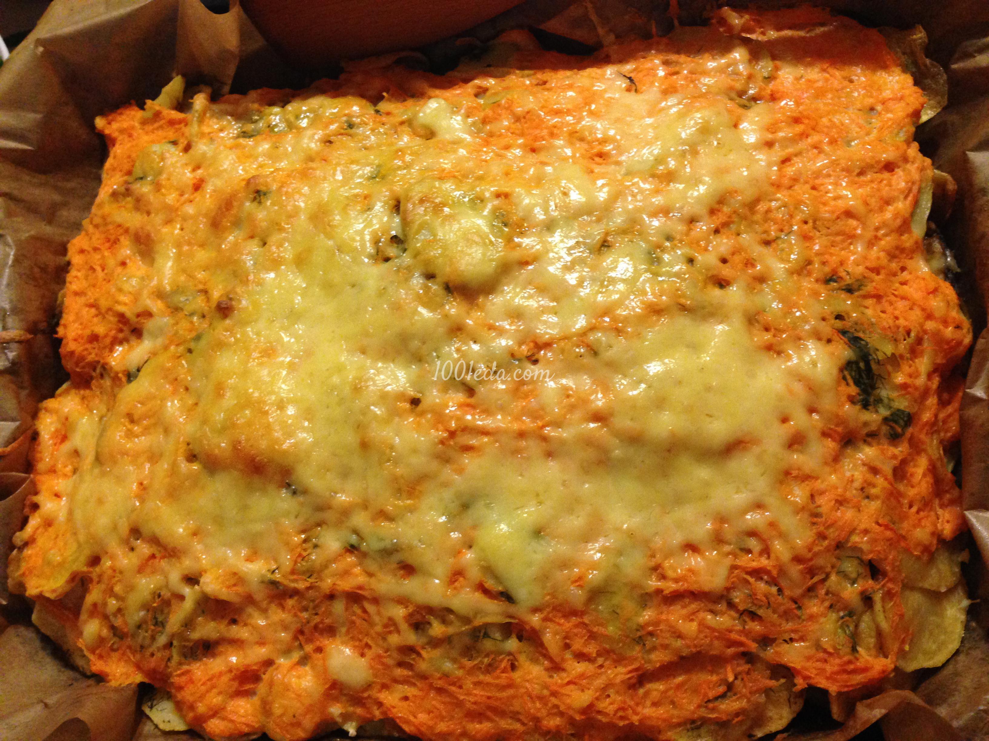 Рыба запеченная в духовке - рецепт с овощами, картошкой, фото Разные Люди 55