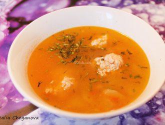 суп с мясные фрикадельки рецепт с фото пошагово