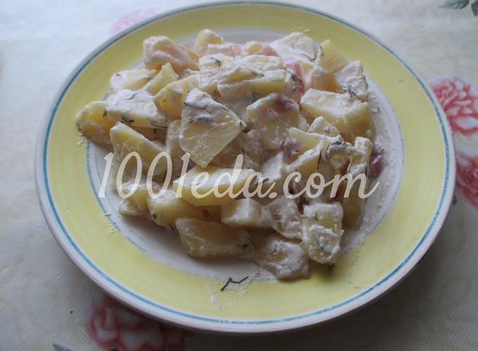 Как сделать сметанный соус для картошки в духовке — photo 6