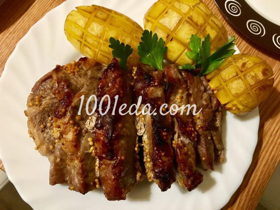 рецепты свинины с картошкой в духовке с фото