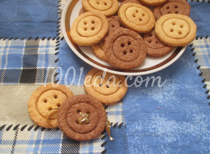 Печенье пуговки рецепт с фото