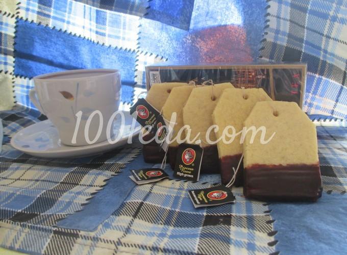 Детское печенье Чайный пакетик: рецепт с пошаговым фото
