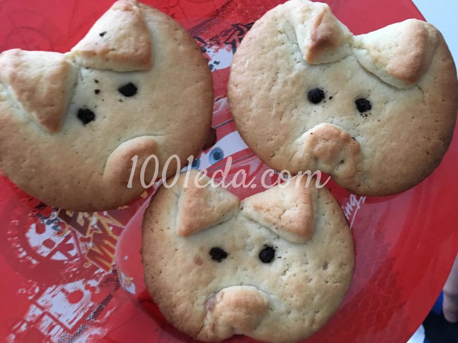 Печенье Хрюшки: рецепт с пошаговым фото