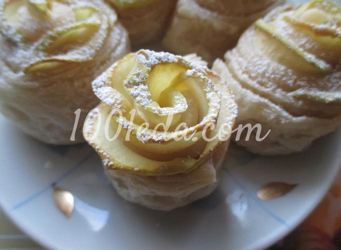 Слойки с яблоками, пошаговый рецепт с фото - Гастроном