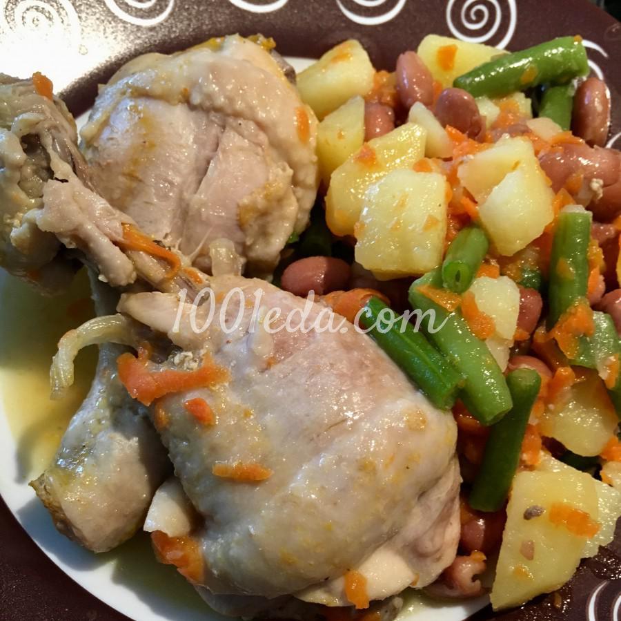 Фасоль с курицей в мультиварке рецепты с фото