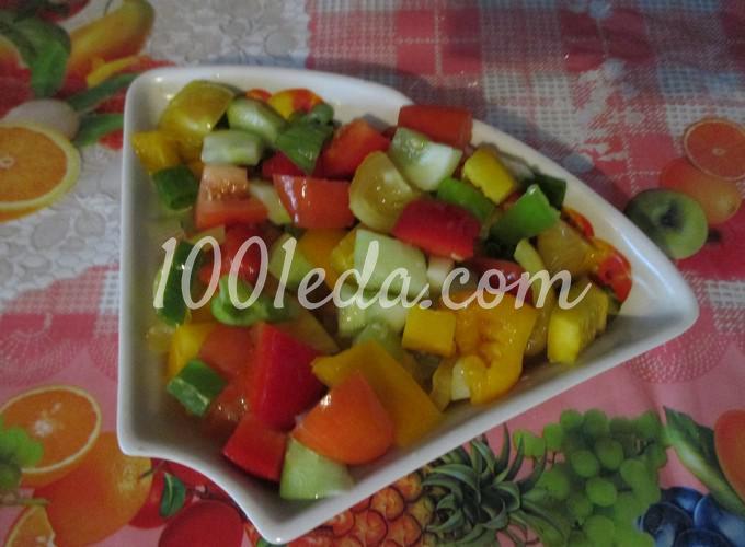 Овощные салаты с маслом рецепты простые и вкусные