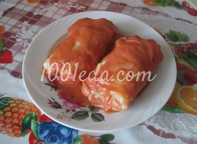 Голубцы в сливочном соусе рецепт с фото