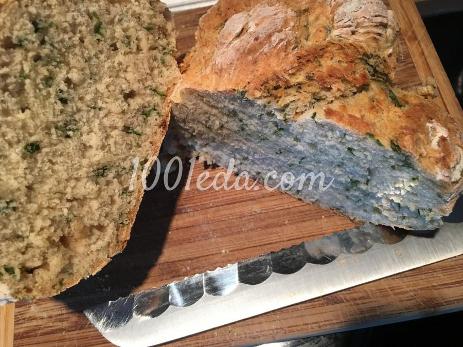 Быстрый хлеб с базиликом в духовке: рецепт с пошаговым фото