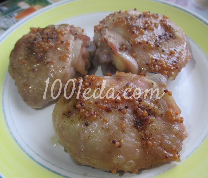 рецепты куриных с медом в духовке