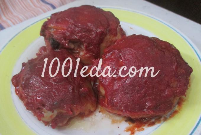 помидоры в томатной пасте рецепт приготовления