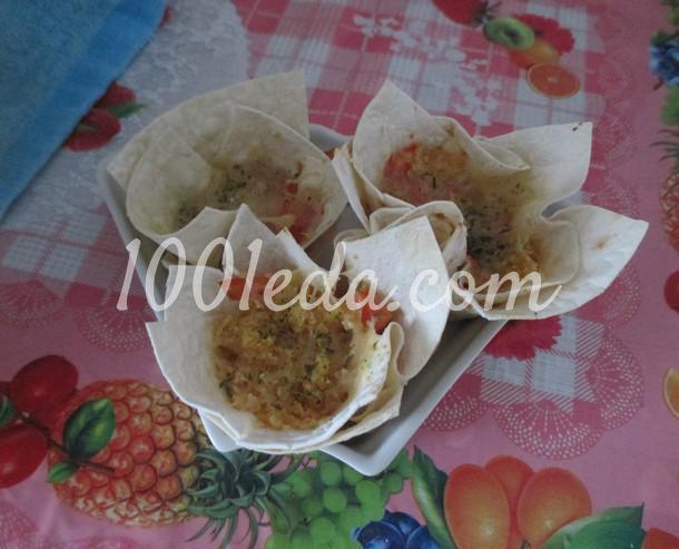 Закуска из лаваша на мужской праздник