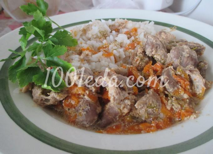 как приготовить куриные желудки в духовке рецепт