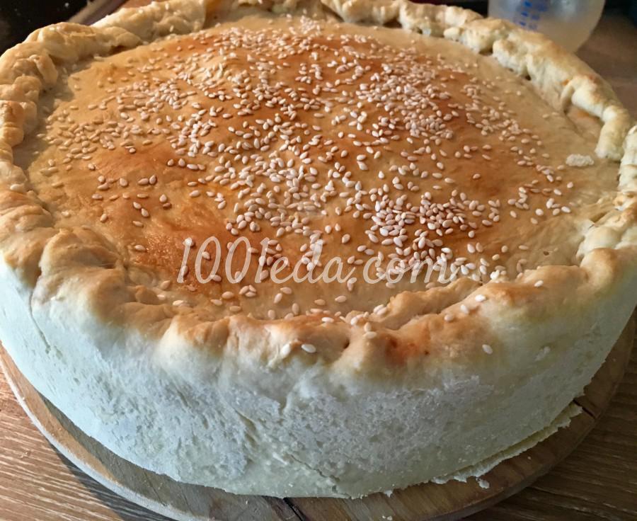 Пирог-чизбургер: пошаговое фото