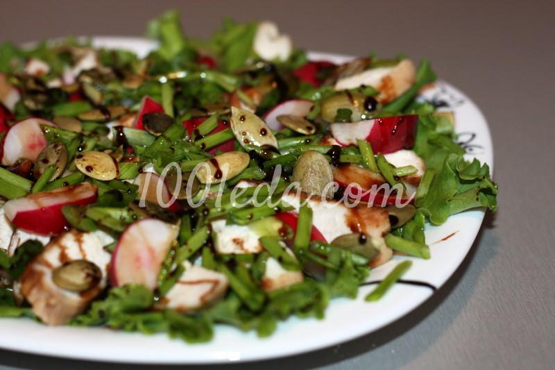 салат из окорочка с фото
