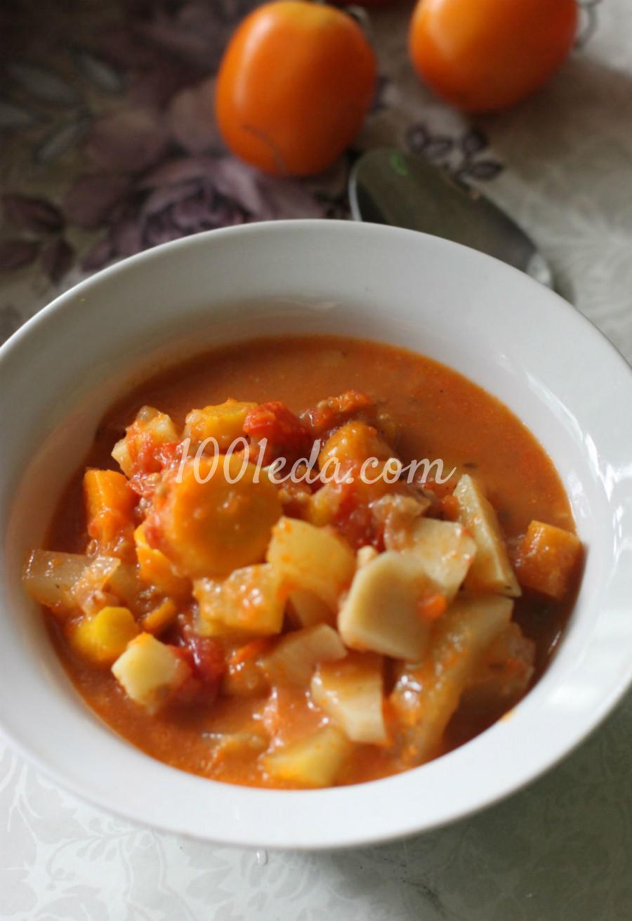 Детское рагу овощное рецепт пошагово в