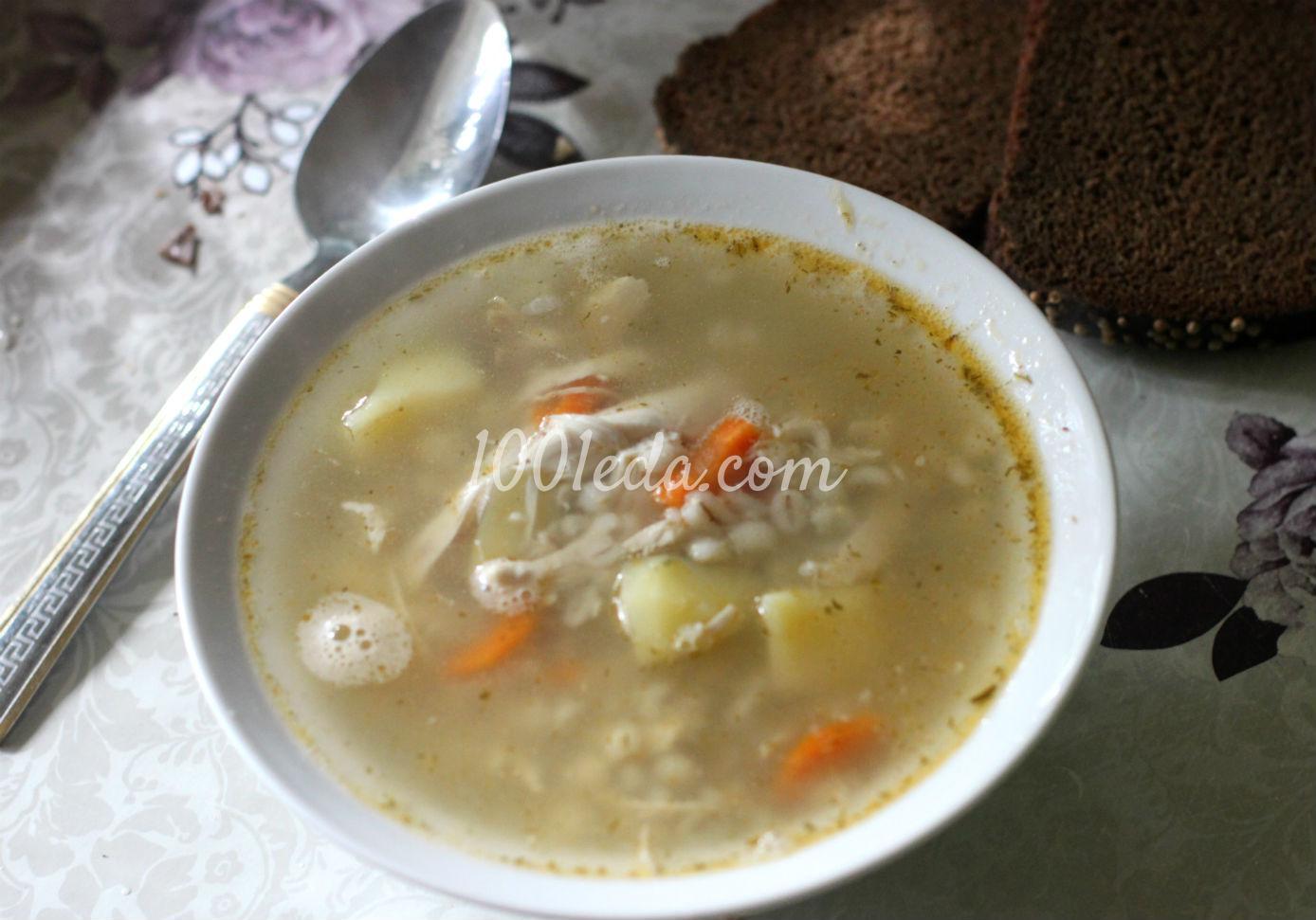 суп с из курицы рецепт с фото пошагово