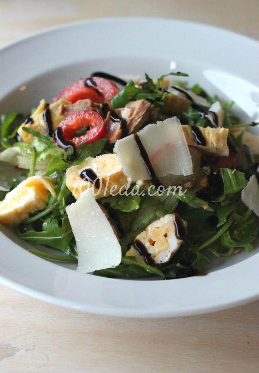 Салат с свежим тунцом рецепт очень вкусный