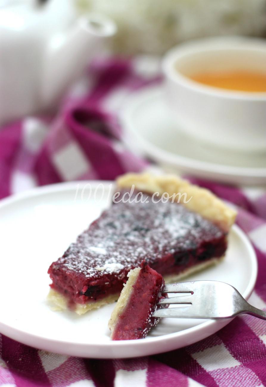 Ягодный тарт: пошагово с фото