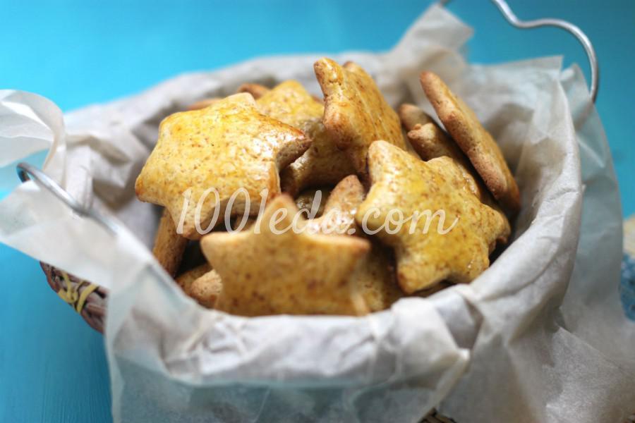Печенье медовое Почти пряник: пошагово с фото