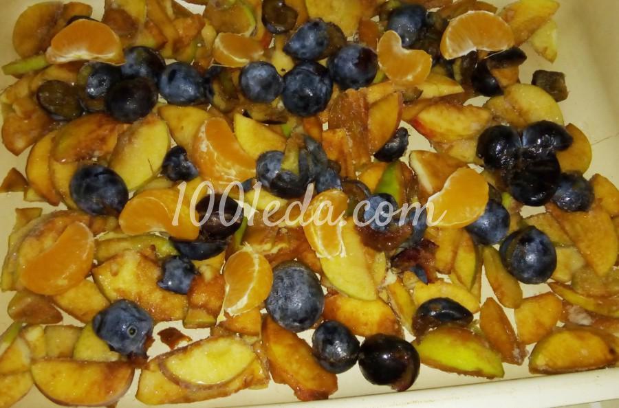 Индюшата запеченные с фруктами и мандарином: пошаговый с фото - Шаг №3